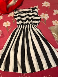 white and black zebra print dress Manassas Park, 20111