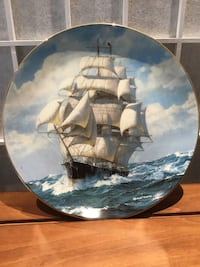 """Clipper Ship Plate """"The Flying Cloud Rounding the Cape"""" Towson, 21286"""