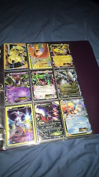 nine Pokemon trading card collection Port Moody, V3H 1S1