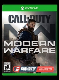 Call of Duty Modern Warfare - Xbox One West Linn, 97068