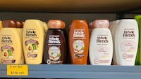 5 for $10 Mix and match Wholeblends Shampoo or conditioner