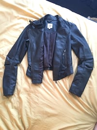 Womens Small Faux Leather Jacket Manassas, 20109