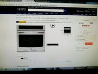 Kenmore Single Wall Oven 30inch. Electric Kensington, 20895