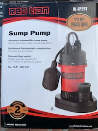 Sump Pump - Red Lion Agoura Hills, 91301