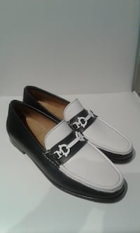 BRUNO MAGLI  LOAFER (AUTHENTIC) MADE IN ITALY... NAVY & WHITE Etobicoke