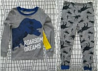 BNWT Joe Fresh 4T Dinosaurs PJ Set Milton