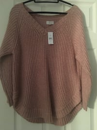 Loft brand new mauve sweater - tags attached  Hartsdale, 10583