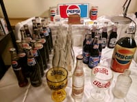 Huge Lot of Vintage Collectable Pepsi Bottles and Stuff Martinsburg, 25405