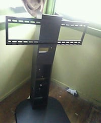 black TV stand with mount Fresno, 93705