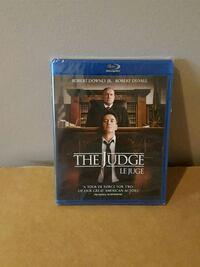 the judge bluray NEW SEALED !! Barrie, L4N 8S6