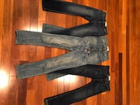 Abercrombie boys jeans size 13-14. Mint condition only $15 each 4 pair in total 3155 km