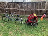 Two person bike with baby In tow!! Woodbridge, 22191