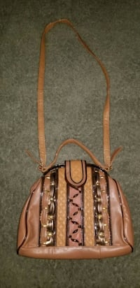 Small Brown Purse with Removable Crossbody Strap Taylor, 48180