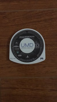 PSP: Transformers The Game Rockville, 20852