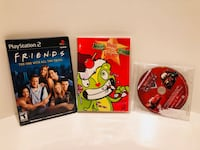Cars 1, Happy Tree:Winter, Friends season 1 and 2 Silver Spring, 20904