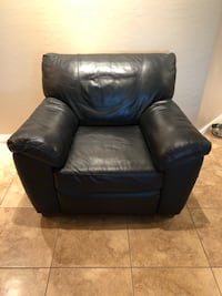 Black Leather Chair Scottsdale, 85251