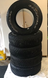 Tires like New: P245 R75 17