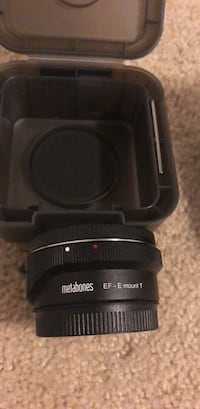 Metabones  EF-E mount mk V adapter 17 mi