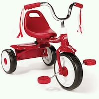 red and black Radio Flyer trike Port St. Lucie, 34983