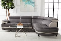 Two tone Modern sectional valued @ $2,999 Calgary, T2A