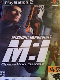 PS2 Mission Impossible Operation Surma Sussex