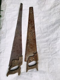 Old handsaws for Artists! Stauffer, T0M 1W0