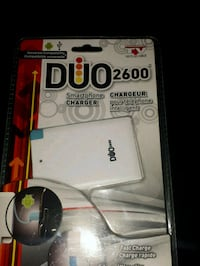 Duo 2600 mah portable power bank  Barrie, L4N