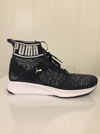 Par svart-hvite puma high-top sneakers Jessheim, 2067