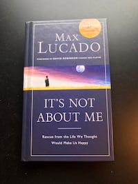 """""""It's Not About Me"""" by Max Lucado (Hardcover) Leesburg, 20175"""