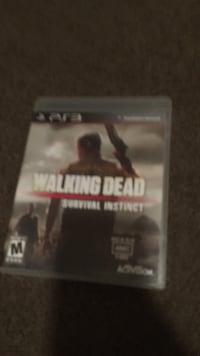 PS3 The Walking Dead game case Fort Atkinson, 53538