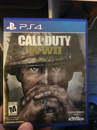 Ps4 call of duty wwii case Fresno, 93730