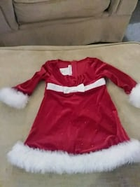 red and white Christmas dress 563 mi