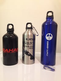 Miscellaneous water bottles