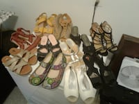 assorted pairs of shoes and sandals Sun City Center