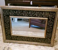 Large decorative wood framed mirror  Plano, 75023