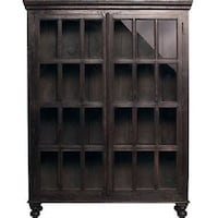 Crate & Barrel Faulkner Library Cabinet null