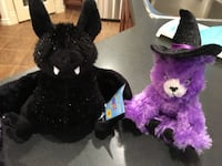 Build a Bear Halloween Cats