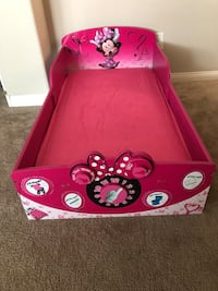 Brand new Minnie Mouse bed and toddler mattress with new sheets  Las Vegas, 89166