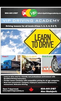 Driving lessons New Westminster