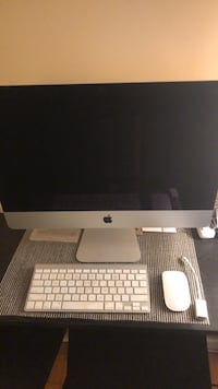 silver iMac with magic keyboard Vancouver, V6H 1N4