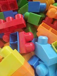 Toy Blocks with Bus
