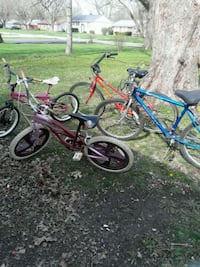 four assorted-color bicycles Indianapolis, 46226