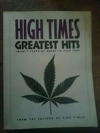 The High Times 25 anniversary book