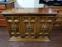 brown wooden cabinet with drawer Sterling Heights, 48310