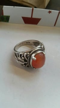 Silver Ring stamped 925  Vancouver, V5T 1X8