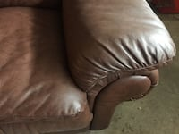 Leather couch and loveseat Mississauga, L4X 1B7