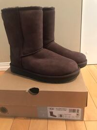 Ladies ugg boots 2 chocolate brown Rocky View No. 44, T0M