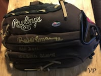 ROBERTO ALOMAR Signed Blue Jays Official Rawlings Full Size Baseball Glove Toronto