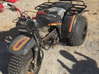 black and red ATV quad bike Columbia, 38401
