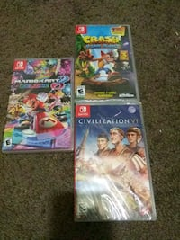 Nintendo switch games includes all Suitland-Silver Hill, 20746
